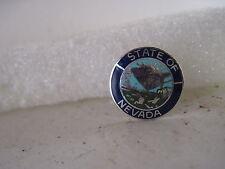 Nevada    State Seal cloisonne  logo  lapel pin