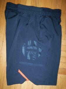 "9"" James Harden ADIDAS BASKETBALL Mens Shorts XL Training Black JH"