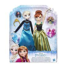 DISNEY FROZEN Bambole Anna e Elsa Giorno dell'Incoronazione - Hasbro b6172