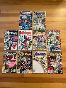 AVENGERS #231 #232 #233 #234 #235 #236 #237 #238 #239 #240 Marvel Comics 1983 o