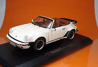 Norev 187661 Porsche 911 Turbo Cabriolet - Modell 1987 -elfenbein (ivory) - 1/18