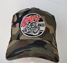 modèle CAFE RACER,bonnet casquette de camionneur,CAMO ,motard,BSA,old school