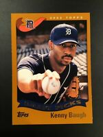 2002 Topps # 330 KENNY BAUGH Draft Picks ROOKIE RC Detroit Tigers Baseball Card