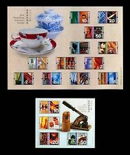 China Hong Kong 2002 Mini S/S East West Cultural Definitive stamps