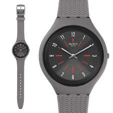 swatch skin orologio uomo donna unisex grigio silicone skinshado collezione new