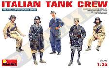 MiniArt 1/35 ITALIAN TANK CREW # 35093