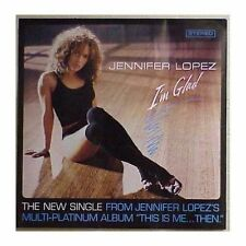 "Jennifer Lopez ""I'm Glad"" Original Promotional Single Poster 24x24 New 2001"