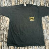 VTG 90s FOTL XL BOOT HILL SALOON 1996 BIKE WEEK DAYTONA BEACH FLORIDA T SHIRT