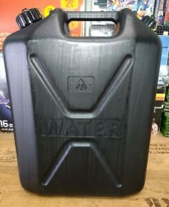 Black Plastic Jerry Can Water Container 20L