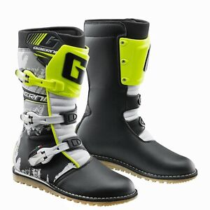 New Gaerne Balance Classic Black/Yellow 2020 Trials Boots