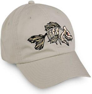 Mean Bonefish Cotton Twill Cap in YOUTH Size. Stone.