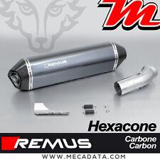 Silencieux Pot échappement Remus Hexacone carbone avec cat BMW K 1200 R Sport 08