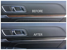 2016 2017 Ford Explorer Interior Dash Trim Blackout Vinyl Decal Overlays