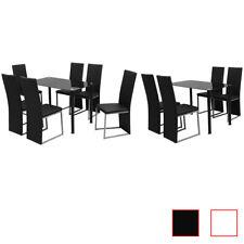 vidaXL Conjunto de Comedor Elegante Disponible en Diferentes Modelos y Colores