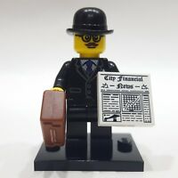 "LEGO Collectible Minifigure #8833 Series 8 ""BUSINESSMAN"" (Complete)"
