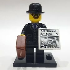 """LEGO Collectible Minifigure #8833 Series 8 """"BUSINESSMAN"""" (Complete)"""