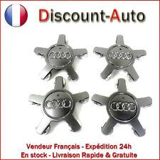 4 X AUDI Star Alloy Wheel Centre Caps 135 mm gris 4F0601165N-Oem sur tous les modèles!