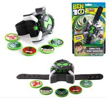 Ben 10 Omnitrix Disc Shooter Watch Season 3 Play Kids Action Figure Child Gift