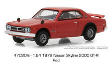 Greenlight Nissan Skyline 2000 GTR 1972 Red 47020 E 1/64