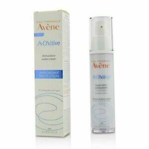 Avene A-OXitive Antioxidant Water-Cream - For All Sensitive Skin 30ml EXP 2022