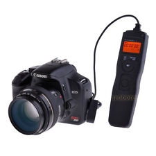 LCD Timer Remote Shutter Release Controller for Canon 1100D 650D 700D 80D 1300D