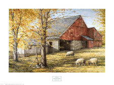 DAN CAMPANELLI - Dark Hallow Illuminated - ART PRINT 32x24 Farm Sheep Poster