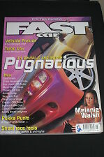 Fast Car May 2002/Melanie Walsh/Honda CRX/Corsa 2.0 16V/VW Jetta/Focus ST220