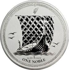 Noble 2017 Isle of Man Wikinger Schiff 1 Unze Silber Reverse Proof - 5.000Ex.!