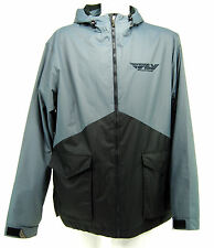 Fly Racing Pit Jacket, Red/Gray, Extra Large