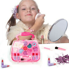 Baby Girl Makeup Set Cosmetic NON-TOXIC Pretend Play Kit Princess Toy Gift UK