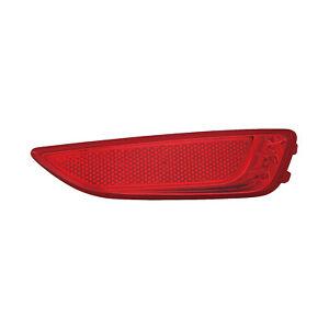 HY1185104 New Replacment Rear Passenger Side Bumper Reflector, Hatchback CAPA