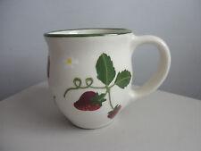Hartstone Pottery High Glaze Strawberry Mug Cup 16 oz