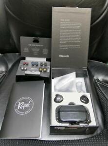 Klipsch T5 II True Wireless Sport Waterproof Bluetooth earbuds (Black)