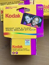 7 x KODAK GOLD 200 35mm 24exp CHEAP COLOUR CAMERA FILM ORIGINAL KODAK FILM