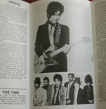 Original1982 Prince The Time Concert Program Capitol Theater Controversy Tour