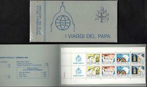 VATICANO 1985 LIBRETTO Viaggi Papa Giovanni Paolo II nuovo perfetto