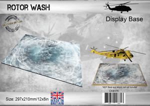 Coastal Kits Rotor Wash Display Base