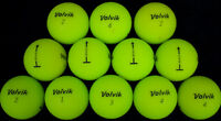 12 Volvik Vivid Matte Green AAA Used Golf Balls *SALE!*