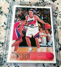 STEVE NASH 1996 Topps #1 Draft Pick Rookie Card RC Phoenix Suns NETS $$ HOF $$