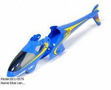 E-sky EK1-0579 (000405) Blue canopy set (F&R) for Lama V4 Helicopter