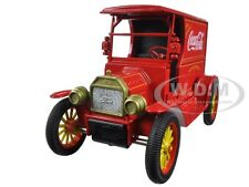 1917 FORD MODEL T DELIVERY TRUCK COCA COLA RED 1:24 DIECAST MODEL BY MCC 448832
