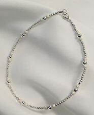 Sterling Silver Stardust Bracelet/ Ankle Bracelet (2964) Plus Sizes too!
