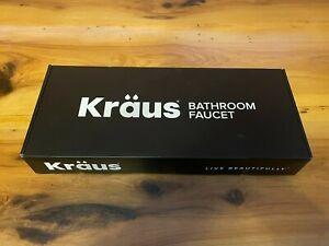 Kraus FVS-1007CH Ramus Single Lever Vessel Bathroom Faucet Chrome