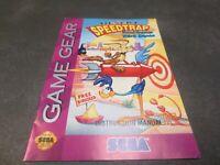 Desert Speedtrap  (Sega Game Gear, 1994) Manual