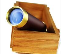 Zoom Brass Monocular Pirate Telescope best For Nautical Outdoor Camping 25X30