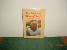 "Rod McKuen's ""BOOK OF DAYS & A MONTH OF SUNDAYS/HC/SIGNED/1981/1st Ed/FREE SHIP!"