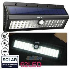 Solar Power 62 LED PIR Motion Sensor Light Outdoor Garden Lamp IP65 Waterproof