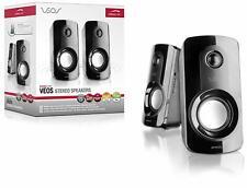 SPEEDLINK VEOS Stereo Lautsprecher Boxen Subwoofer 6-6-4-1007 für PC / Laptop