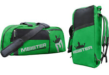 MEISTER CONVERTIBLE BACKPACK / GYM BAG - GREEN Sports MMA Duffle Large Carry-All