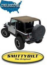 Smittybilt Extended Top 97-06 Jeep Wrangler TJ 93617 Spice Denim